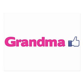 Grandma Like Postcard