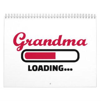 Grandma loading calendar