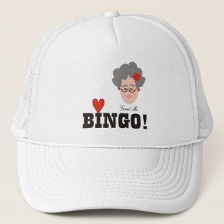Grandma Loves Bingo Hat