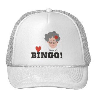 Grandma Loves Bingo Hat