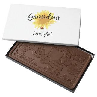 Grandma Loves Me 2 Pound Milk Chocolate Bar Box