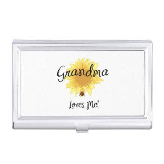 Grandma Loves Me Business Card Holders