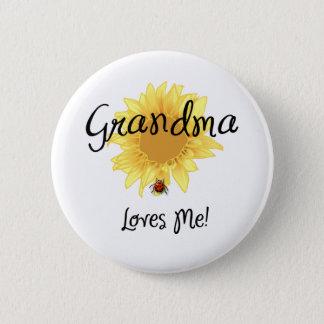 Grandma Loves Me Button