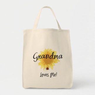 Grandma Loves Me Canvas Bags