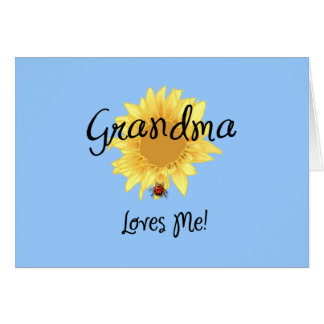 Grandma Loves Me Card