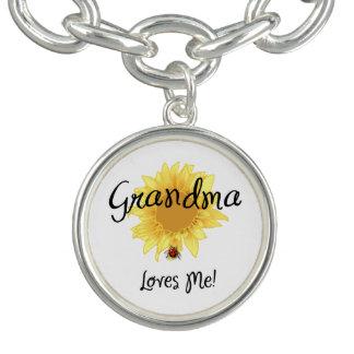 Grandma Loves Me Charm Bracelets