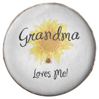 Grandma Loves Me Chocolate Dipped Oreo