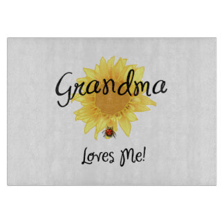 Grandma Loves Me Cutting Boards