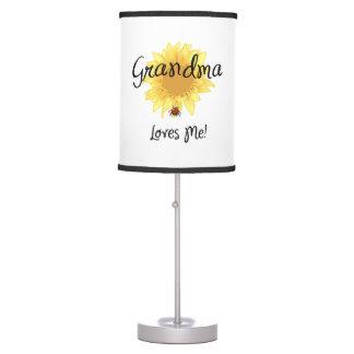 Grandma Loves Me Desk Lamp