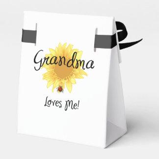 Grandma Loves Me Favor Box