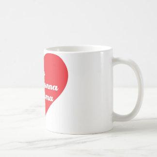 Grandma Loves Me (Italian) Coffee Mug