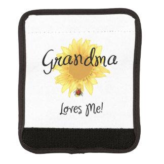 Grandma Loves Me Luggage Handle Wrap