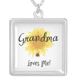 Grandma Loves Me Pendants