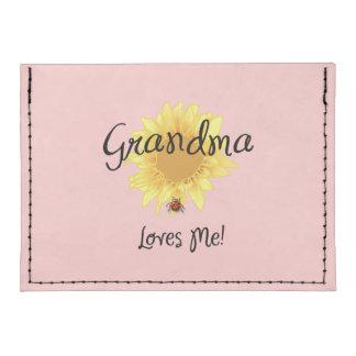 Grandma Loves Me Tyvek® Card Wallet