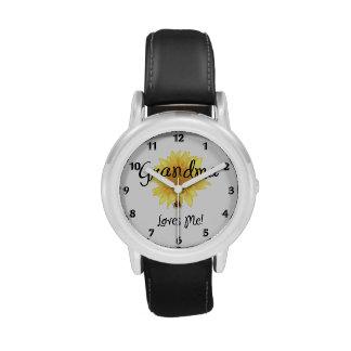 Grandma Loves Me Wristwatch