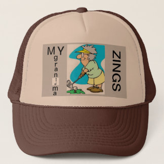 grandma ma zings trucker hat