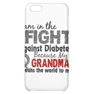 Grandma Means World To Me Diabetes iPhone 5C Cases