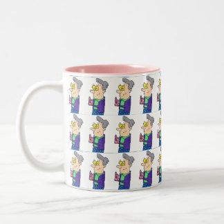 Grandma Mug Two-Tone Mug