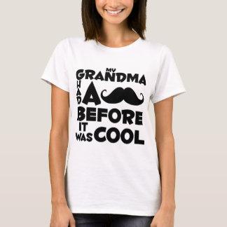 grandma mustache T-Shirt