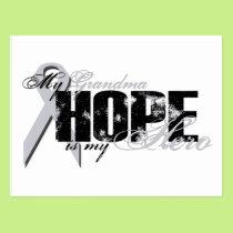 Grandma My Hero - Lung Hope Postcard