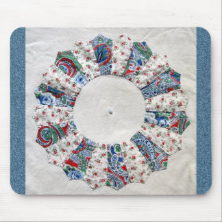 Grandma Nellie's Quilt - Block #1 Mouse Pad