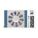 Grandma Nellie's Quilt - Block #1 Postage Stamp