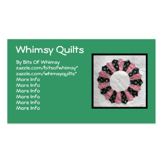 Grandma Nellie's Quilt Block #2 Double-Sided Standard Business Cards (Pack Of 100)