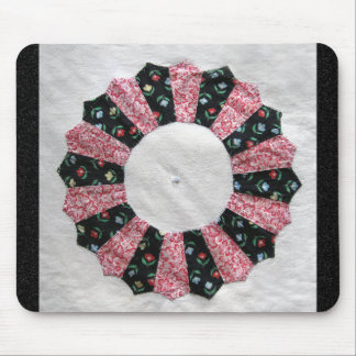 Grandma Nellie's Quilt Block #2 Mouse Pad