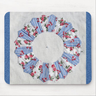 Grandma Nellie's Quilt - Block #3 Mouse Pad