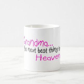 Grandma, Next Best Thing To Heaven Mugs