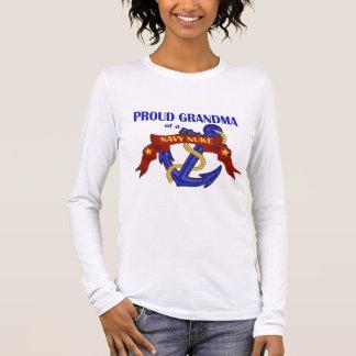 Grandma of a Navy Nuke Long Sleeve T-Shirt