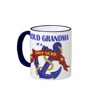 Grandma of a Navy Nuke Coffee Mugs
