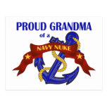 Grandma of a Navy Nuke Post Card