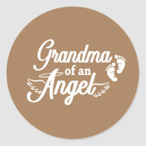 Grandma of an Angel Sticker