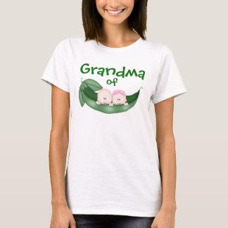 Grandma of Mixed Twins T-Shirt