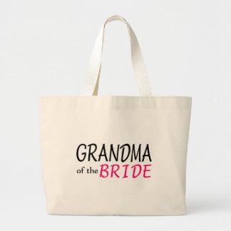 Grandma Of The Bride Large Tote Bag