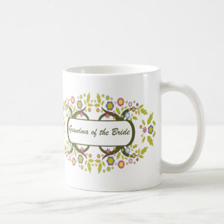 Grandma Of The Bride Classic White Coffee Mug