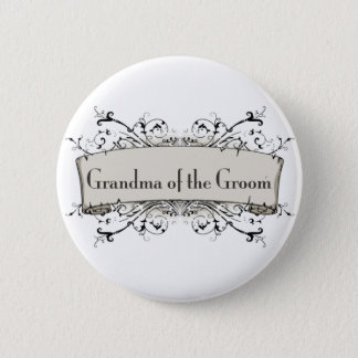 *Grandma Of The Groom Button