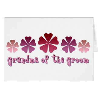Grandma of the Groom Card