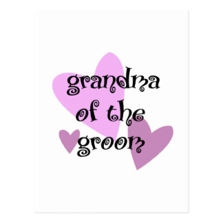 Grandma of the Groom Postcard