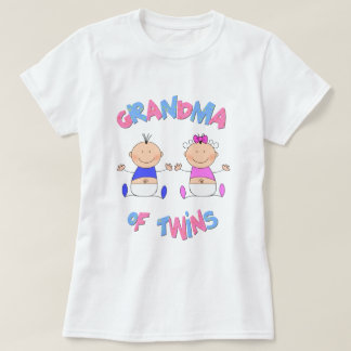 Grandma of Twin Babies T-Shirt