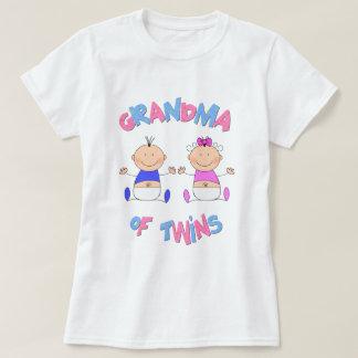 Grandma of Twin Babies T Shirt