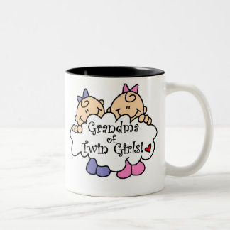 Grandma of Twin Girls Mug