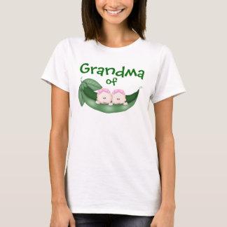 Grandma of Twin Girls T-Shirt