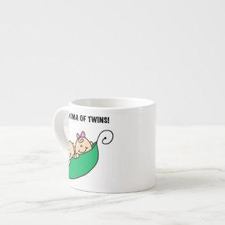 Grandma of Twins Gifts Espresso Cup