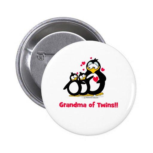 Grandma of twins pins