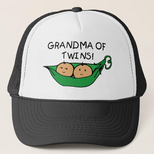 Grandma of Twins Pod Trucker Hat