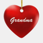 Grandma Ornament Heart