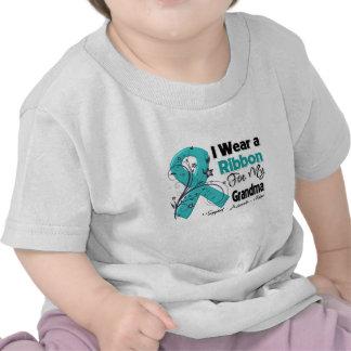 Grandma - Ovarian Cancer Ribbon Shirts