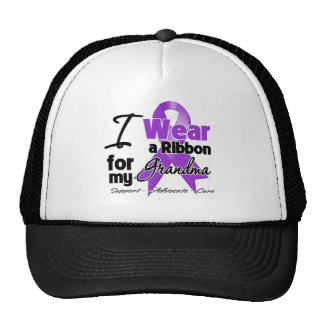 Grandma - Pancreatic Cancer Ribbon Trucker Hat